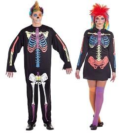 Disfraces Skeleto Color